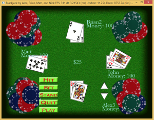 Networked Blackjack